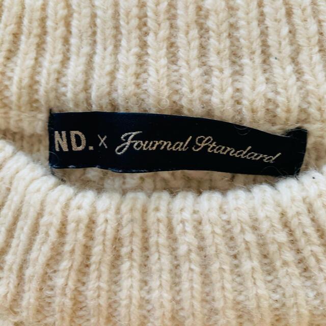 JOURNAL STANDARD(ジャーナルスタンダード)のジャーナルスタンダード♡アラン編みウールニット美品 レディースのトップス(ニット/セーター)の商品写真