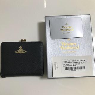 Vivienne Westwood - 【週末値下げ!】Vivienne Westwood がま口二つ折り財布