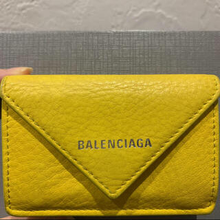 バレンシアガ(Balenciaga)のNEWタイプ バレンシアガ ペーパーミニウォレット(財布)