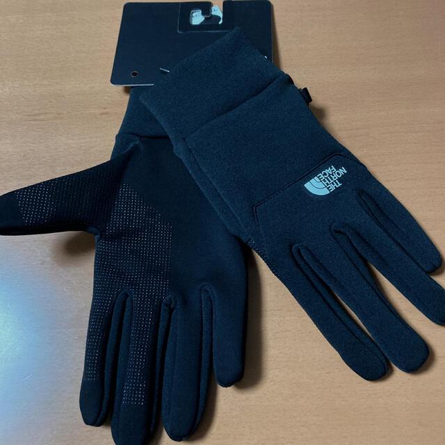 THE NORTH FACE(ザノースフェイス)の【新品】ノースフェイス  イーチップ グローブ 黒 Lサイズ メンズのファッション小物(手袋)の商品写真