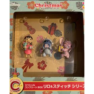 ディズニー(Disney)のディズニー クリスマスオーナメントくじ C賞(キャラクターグッズ)