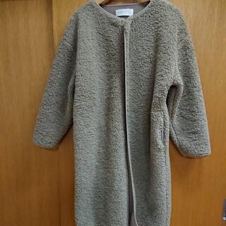 chocol raffine robe - ボアコート コーディガン