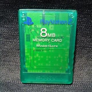 PlayStation2 - AZ18 PS2メモリーカード1個 ソニー純正 即購入歓迎 動作確認初期化済