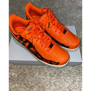 "NIKE - NIKE AIR FORCE 1 ""ORANGE SKELETON"" 26.5"