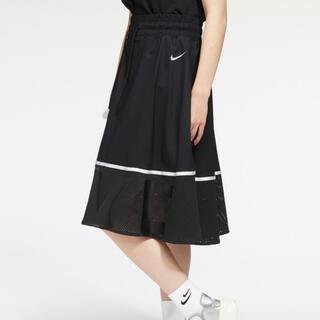 NIKE - ナイキ  メッシュ スカート M ブラック 黒