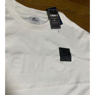 ライトオン(Right-on)の Camp7 Tシャツ 白 新品タグ付き(Tシャツ/カットソー(半袖/袖なし))