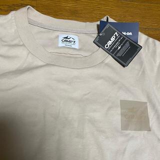 ライトオン(Right-on)の Camp7 Tシャツ ベージュ 新品タグ付き(Tシャツ/カットソー(半袖/袖なし))