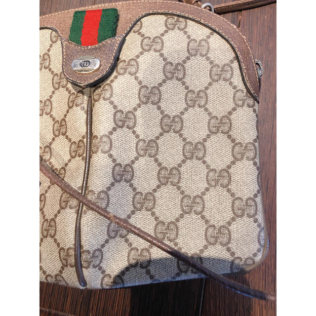 Gucci(グッチ)のオールドグッチ GUCCI ショルダーバッグ クリスマス  レディースのバッグ(ショルダーバッグ)の商品写真