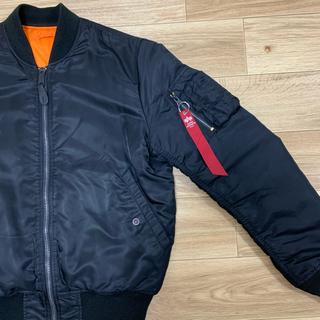 alpha - ALPHA MA-1 ボンバージャケット