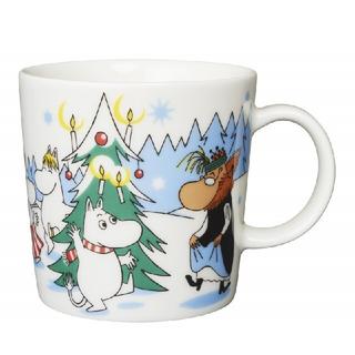アラビア(ARABIA)の新品◆ムーミン クリスマスツリー 2013 アラビア マグカップ(グラス/カップ)