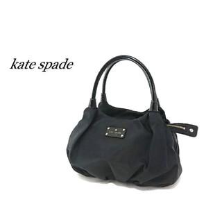 ケイトスペードニューヨーク(kate spade new york)のkate spade ケイトスペード ハンドバッグ ブラック ナイロン(ハンドバッグ)