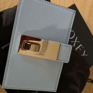 フォクシー(FOXEY)のフォクシー新品カードケースグレー(財布)