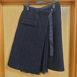 サカイ(sacai)のsacaiスカート(ひざ丈スカート)