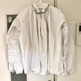 Lochie - toro vintage リネン素材のブラウス/スモック/シャツ古着