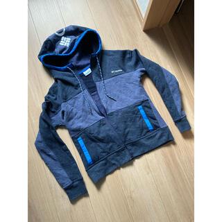 Columbia - コロンビア男女スウェットパーカーグレーブルー灰青Sトレーナーマウントアウトドア