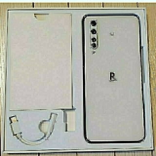 Rakuten - Rakuten BIG ホワイト5G  (eSIM専用端末)ZR01