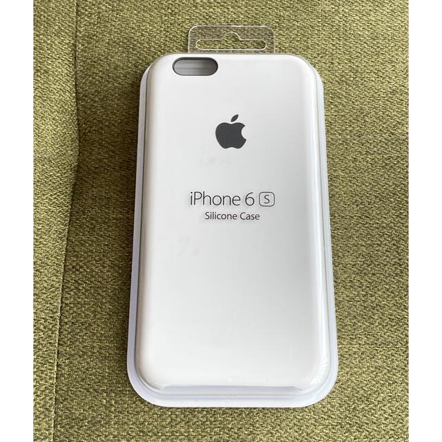 Apple(アップル)の純正 iPhone 6s/6 シリコンケース ホワイト 白 MKY12FE/A スマホ/家電/カメラのスマホアクセサリー(iPhoneケース)の商品写真