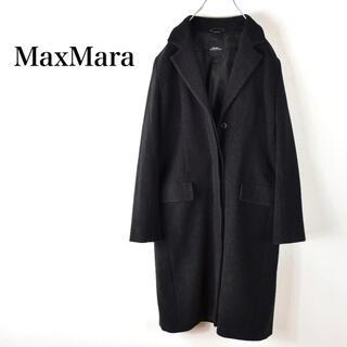 Max Mara - MaxMara マックスマーラ 最高級 ウール チェスターコート