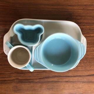 ルクルーゼ(LE CREUSET)のル・クルーゼ ベビー食器 4点セット (離乳食器セット)