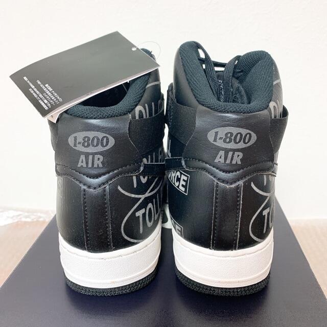 NIKE(ナイキ)の黒26.5cm ナイキ エアフォース1 ハイ 07 プレミアム 1-800 メンズの靴/シューズ(スニーカー)の商品写真