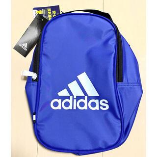 アディダス(adidas)の【新品】アディダス adidas シューズケース シューズバッグ ブルー(シューズバッグ)