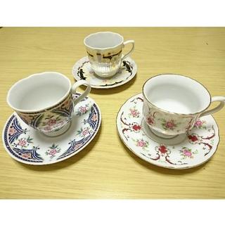 フェリシモ(FELISSIMO)のフェリシモ  HONITON LACE カップ&ソーサー コーヒー 紅茶 に(グラス/カップ)