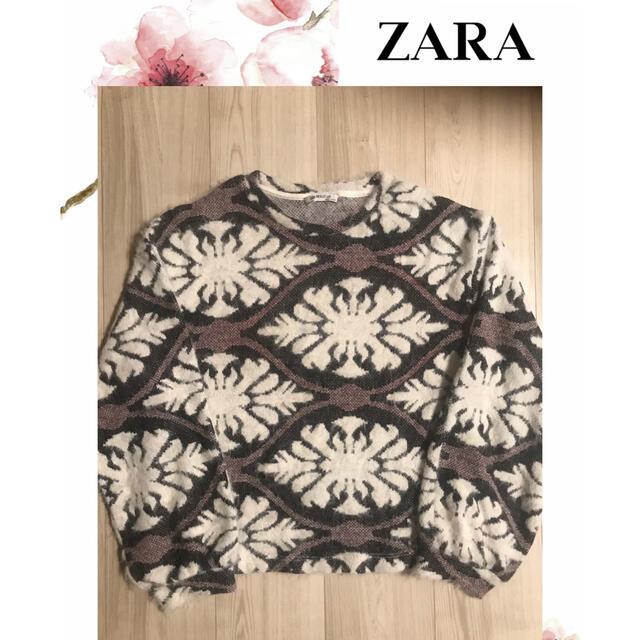 ZARA(ザラ)のZARA   ニット セーターS レディースのトップス(ニット/セーター)の商品写真