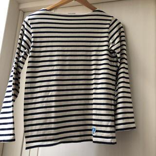 オーシバル(ORCIVAL)のオーシバル名品バスクシャツ ユーズド ゼロ Sサイズ(カットソー(長袖/七分))