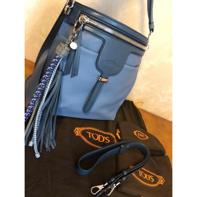 TOD'S(トッズ)のほぼ未使用♡人気モデル♡トッズティア 2WAY レディースのバッグ(ショルダーバッグ)の商品写真
