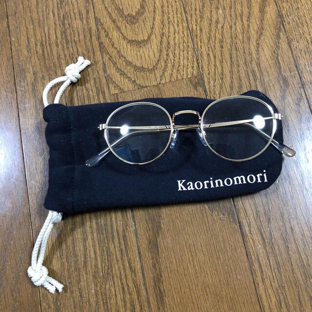 カオリノモリ(カオリノモリ)のあさぎさん専用カオリノモリメガネ レディースのファッション小物(サングラス/メガネ)の商品写真