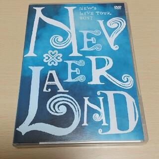 ニュース(NEWS)のNEWS NEVERLAND DVD 通常盤(ミュージック)