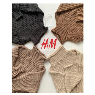 エイチアンドエム(H&M)のH&M チャンキーニット(ニット/セーター)