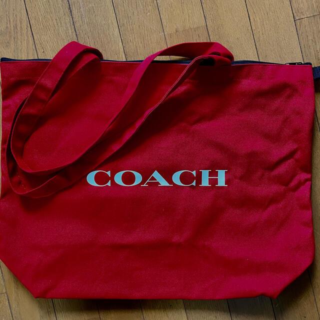 COACH(コーチ)のコーチ 非売品キャンバス地トートバッグ レディースのバッグ(トートバッグ)の商品写真