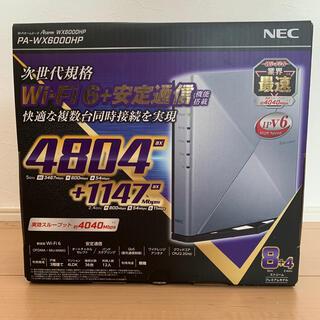 NEC - NEC AtermWX6000HPPA-WX6000HP【新品未使用】