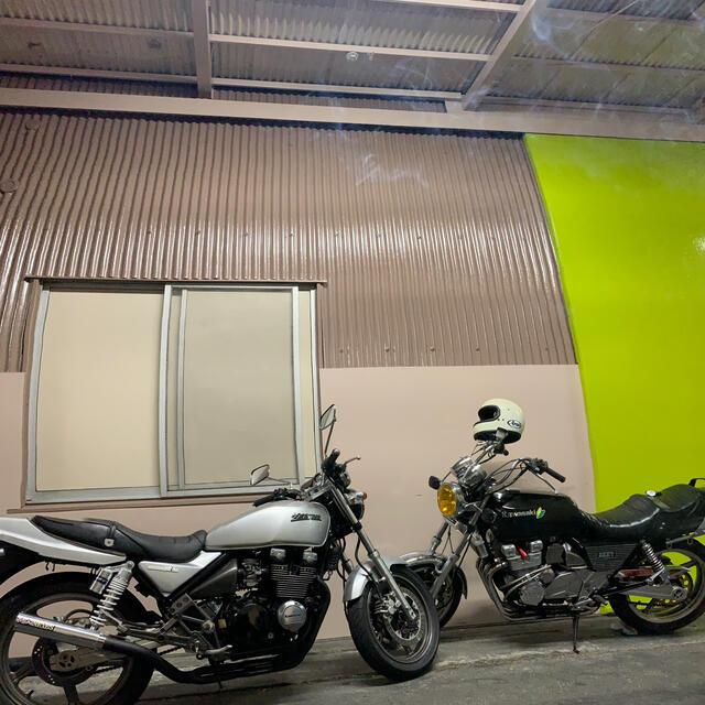 カワサキ(カワサキ)のゼファーχ 4-2-1 マフラー ルーザー管 自動車/バイクのバイク(パーツ)の商品写真