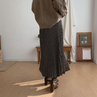 TODAYFUL - NOKCHA プリーツスカート