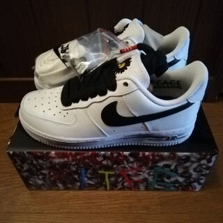 ナイキ(NIKE)のnike air force1 paranoise g-dragon  (スニーカー)
