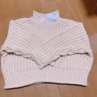 シマムラ(しまむら)の新品未使用♡しまむら プチプラのあや オーバーサイズニット(ニット/セーター)