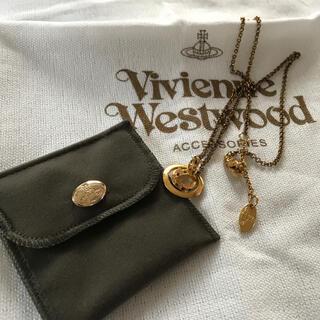 Vivienne Westwood - ヴィヴィアンウエストウッド スモールオーブネックレス 中古品