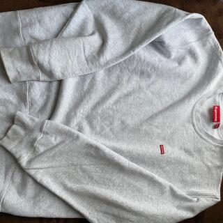 Supreme - supreme smallbox  Crewneck grey L