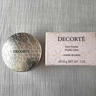 コスメデコルテ(COSME DECORTE)のコスメデコルテ フェイスパウダー 00 translucent 新品未開封(フェイスパウダー)