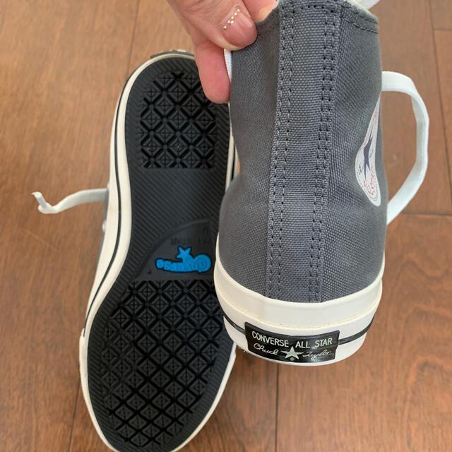 CONVERSE(コンバース)の最終 コンバースオールスター チャックテイラー グレー★新品未使用 レディースの靴/シューズ(スニーカー)の商品写真