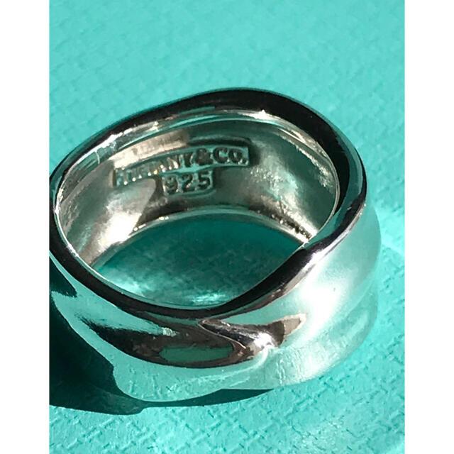 Tiffany & Co.(ティファニー)の【極美品】希少‼️ティファニー  ヴィンテージ リーフモチーフ リング  ♯10 レディースのアクセサリー(リング(指輪))の商品写真