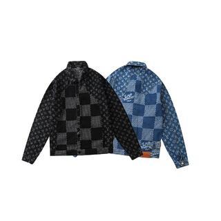 LOUIS VUITTON - LV 2713プリントロゴ/デニムジャケット/男女兼用 1枚13300円送料込み