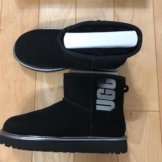 UGG - UGG(アグ)ムートンブーツ ブラック 24センチ