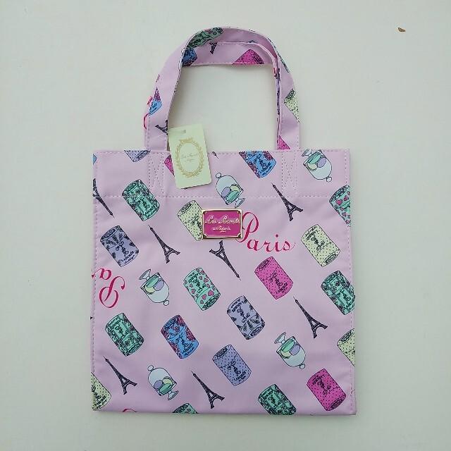 LADUREE(ラデュレ)の新品☆ラデュレ トートバッグM ピンク レディースのバッグ(トートバッグ)の商品写真