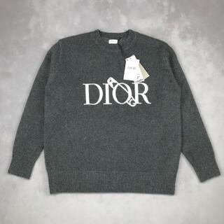 Christian Dior - 0127ウールディオール 丸襟セーターニットDior トップス 長袖年末セール