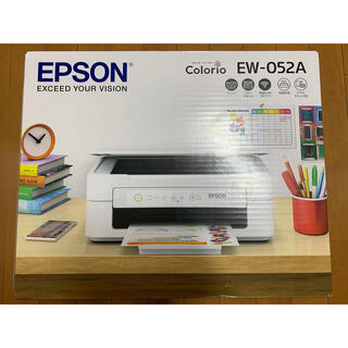 エプソン(EPSON)のエプソン EW-052A(OA機器)