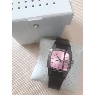 DIESEL - DIESELディーゼル✩腕時計✩レディース✩ピンクブラウン