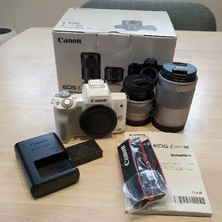 Canon - 【美品】Canon EOS kiss M ホワイト